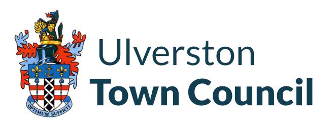 Ulverston Town Council logo mobile