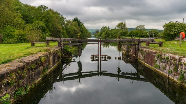 Gas works held up at Canal