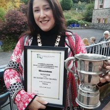 Ulverston win best town at the Cumbria in Bloom Awards